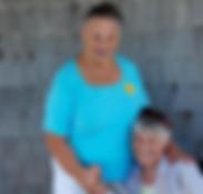 Anola meets Myrna Midget Peters, whose ancestors were US Life-Savers
