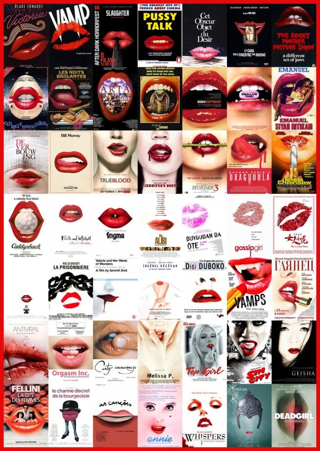 """Les affiches de cinéma """"standardisées"""""""