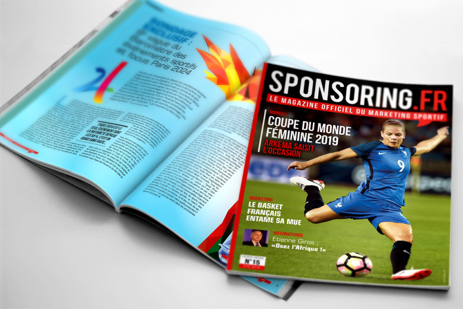 Parution du magazine Sponsoring N°15