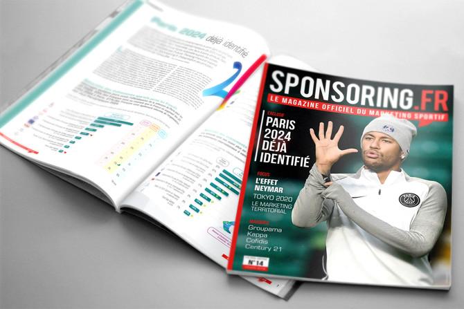 Le magazine hors-série de Sponsoring.fr hiver 2018 est paru