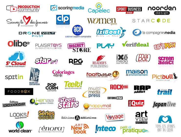 Création de logos - Mediapict crée votre identité visuelle
