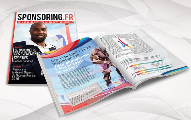 Sponsoring, le magazine du marketing sportif