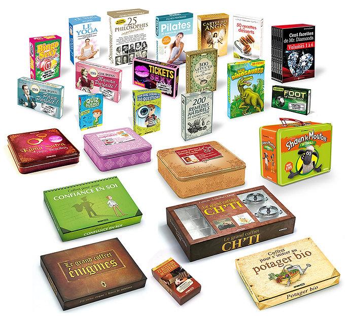 Création de packaging produits