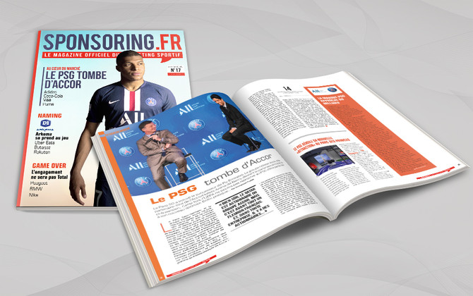Sponsoring N°17, le magazine officiel du marketing sportif
