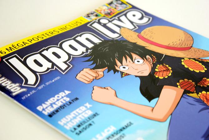 Le magazine Japan Live N°2 réalisé par Mediapict