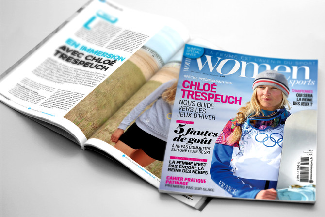 #WOMENSPORTS N°7 en kiosque le 1er janvier 2018
