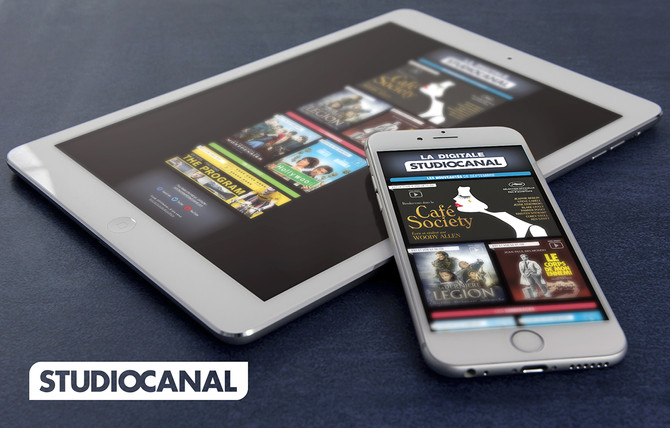 La Digitale - Studiocanal, Groupe Canal+