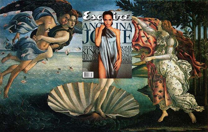 Quand des couvertures de magazines rencontrent les peintures célèbres...