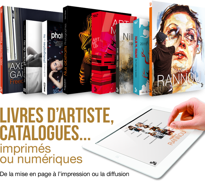 Mediapict conçoit vos livres d'art...