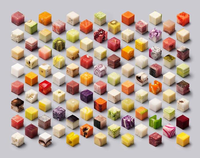 CUBES – Une incroyable photographie culinaire réalisée sans retouches