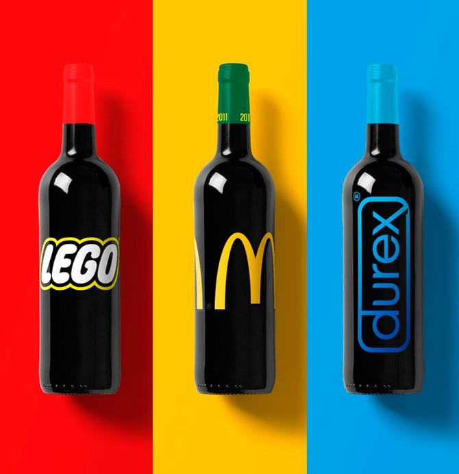 Si les marques célèbres produisaient du vin