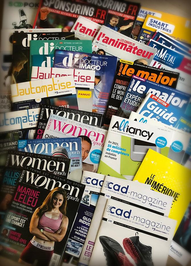 2018 : plus de 40 magazines réalisés...