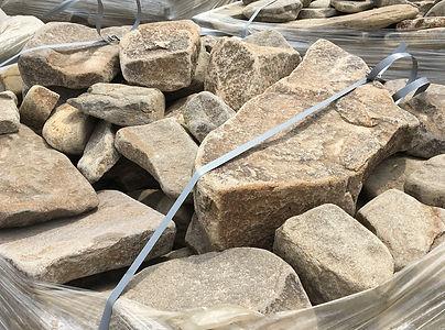 бутовый камень серый галтованный купить