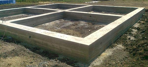 строим ленточные фундаменты в Ростове-на
