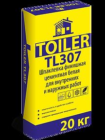 TOILER TL 307 Шпатлевка фасадная белая цена купить