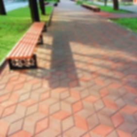 Тротуарная плитка Ромб купить цена