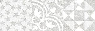 керамогранит VIENNA светло-серый декор 1