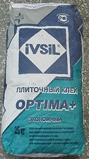 Клей плиточный IVSIL OPTIMA+ 25кг цена