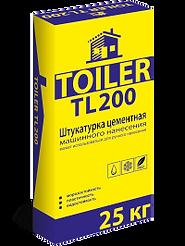 TOILER TL200 Штукатурка цементная машинного нанесения цена купить