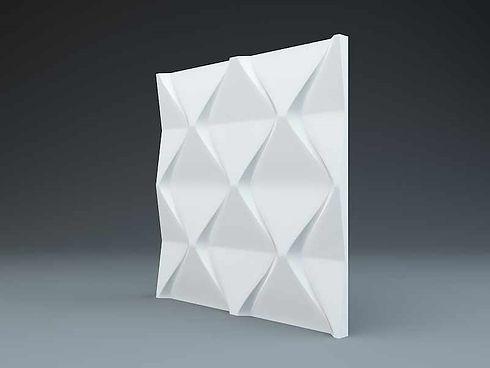 Гипсовые 3д панели Пирамида купить цена.