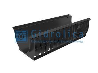 Лоток водоотводный Gidrolica Pro ЛВ-30 3