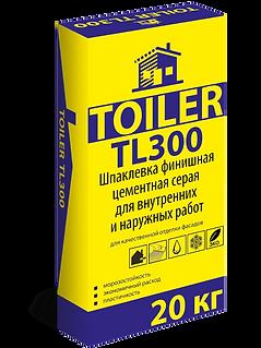 TOILER TL300 Фасадная шпатлевка серая цена купить