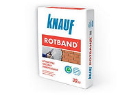 Штукатурка гипсовая универсальная КНАУФ-Ротбанд 30 кг купить цена