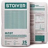 Шпаклевка гипсовая STOIVER-Флэт25кг купить цена