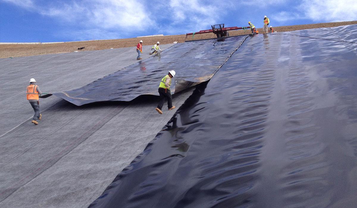 использование геотекстиля в строительств