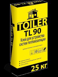 TOILER TL 90 Клей для укладки плит из пенополистирола купить цена