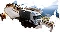 Доставка керамзита автотранспортом