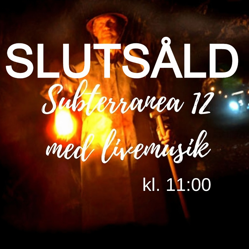 Subterranea 12 med livemusik