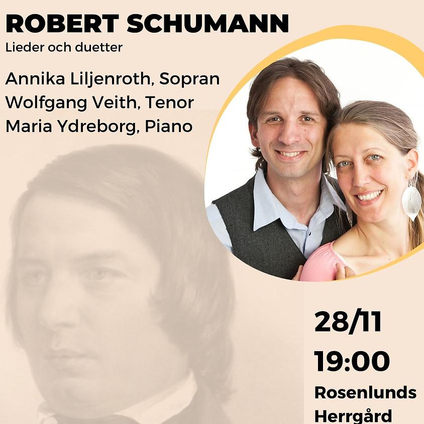 Robert Schumann, Lieder och duette