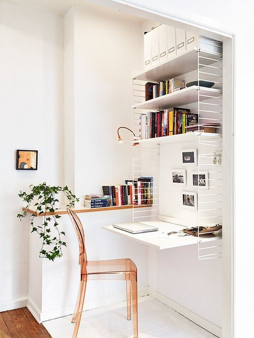 Small space multi-functional design.