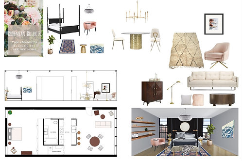 Interior e-Design- One Room