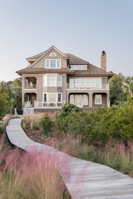 Perfect Beach Home. Shingle Siding. Curb Appeal. South Carolina Home.