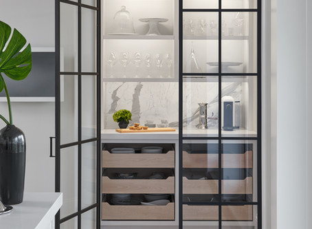 These Butler's Pantries Will Be All of Your 2019 Organisational Goals