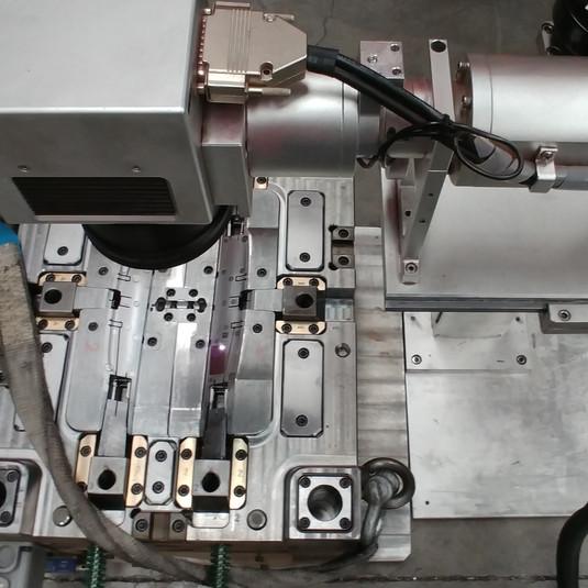 gravação laser em moldes