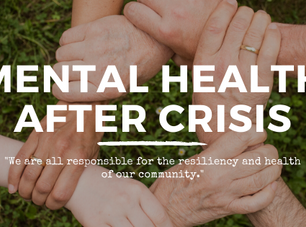 How much Distress is Healthy after a Crisis?