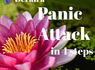 4 Steps to Derail a Panic Attack
