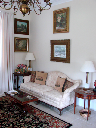 Ladybug Cottage Living Room