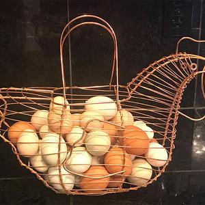 Barking Fox Farms fresh eggs