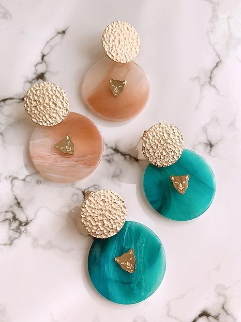 Boucles d'oreilles Dado ( 2 couleurs )