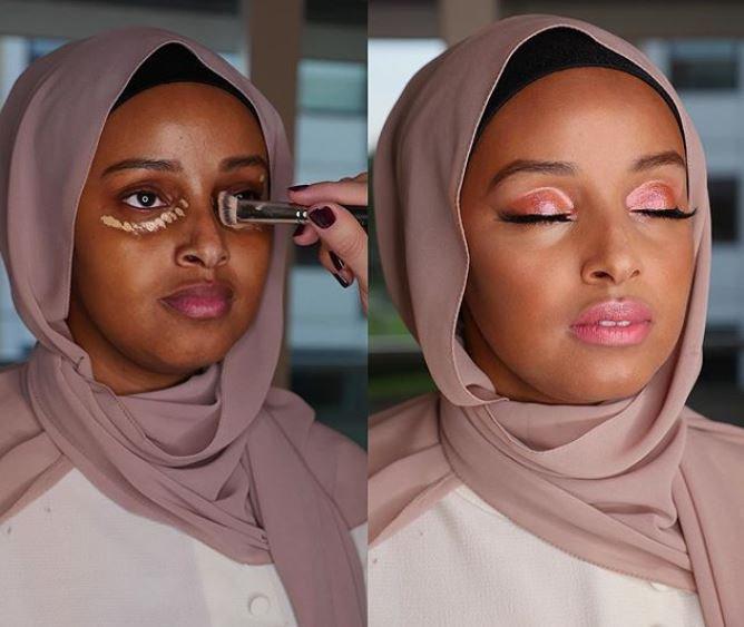 Bridal Makeup Test