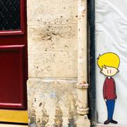 L'attente, Paris 2e, 2020