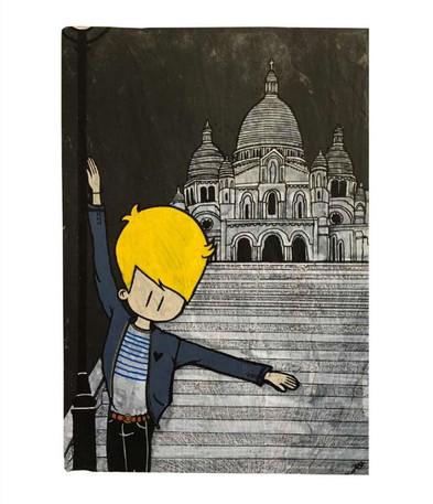 Jo in Montmartre