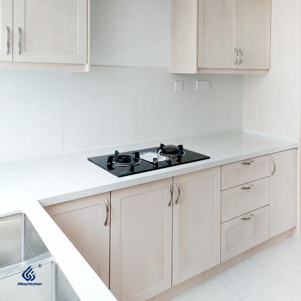 Fine Line Woodgrain Aluminium Kitchen Cabinet