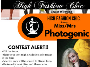HFC Miss/Mrs Photogenic 2020