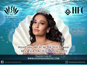 Exclusive Prizes to be won at Ms Asia Pacific India 2020