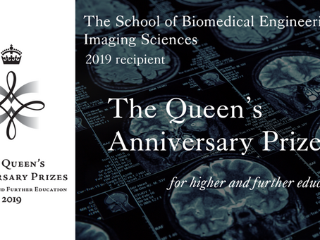 School of Biomedical Imaging & Imaging Sciences Awarded Queen's Anniversary Prize